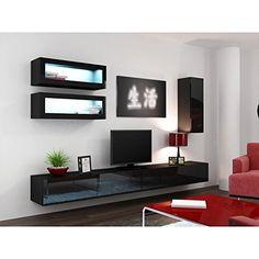 Amazon.com: Paris Contemporary Design 74.8x98.4x17.7 Inch Wall