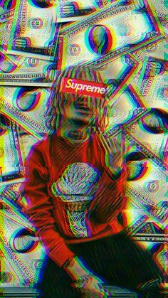 #Lilpump#GucciGang#Money#Supreme#Fucku#Wallpaper