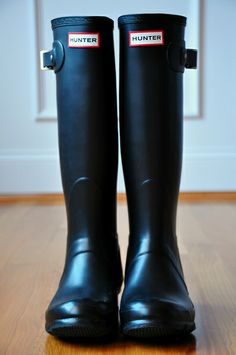 Wouldn't these look good in Alaska? ;) @Angie Wimberly Cronen  hunter rain boots
