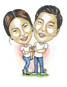 Song Hye Kyo, Song Joong Ki, Celebrity Drawings, Caricature, Sketches, Portraits, Songs, Celebrities, Artwork