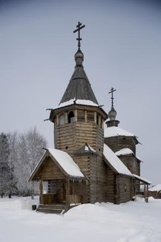 Photographic Print: Wooden Church of the Transfiguration : Abandoned Churches, Old Churches, Sacred Architecture, Architecture Details, Modern Architecture, Catholic Wallpaper, Cathedral Church, Cathedral Quilt, The Transfiguration