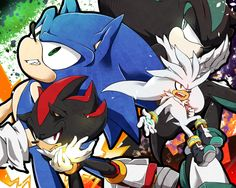 35 Best Sonic, Shadow, Silver, and Mephiles images in 2019