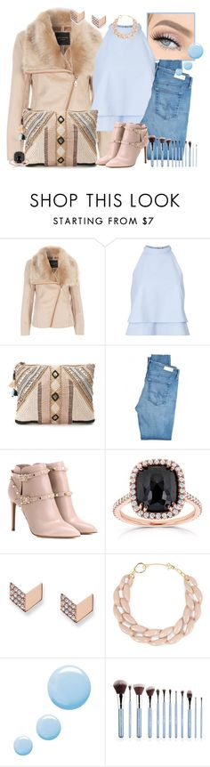 """""""Au fur & à mesure..."""" by li-lilou ❤ liked on Polyvore featuring Jane Norman, Miss Selfridge, BLANK, AG Adriano Goldschmied, Valentino, Kobelli, FOSSIL, DIANA BROUSSARD, Topshop and Sigma"""
