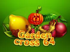 "Development of logotype for the game slot-machine ""Garden cross 64"" http://artforgame.com/"