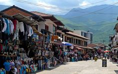 Peja bazaar, Kosovo. I went to this market for just a bit. What a beautiful #roadtrip across Kosovo