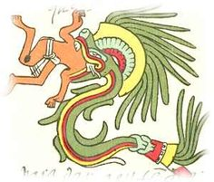 Aztec feathered serpent
