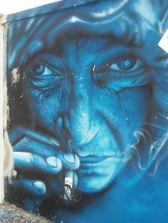 Street Artist SMILE in Portugal August 2015 photo f. miranda