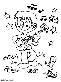 Cute music image to color Music Activities, Music Images, Piano Sheet Music, Music Classroom, Classroom Resources, Music Education, Coloring Sheets, Teaching, Montessori