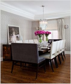 Bergen Oak Table Dining Room Ideas Inspiration In 2019 . Dining Room: Banquette Dining Sets For Elegant Dining . Furniture: Comfort And Elegant Breakfast Nook Bench . Home and Family Decor, Modern Dining, House Design, Room, Modern Dining Room, Cool House Designs, Dining Table, Home Decor, Formal Dining Room