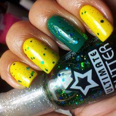 Brazillian Day -Top Beauty sobre o Verde e o Amarelo Cremosos da Novo Toque