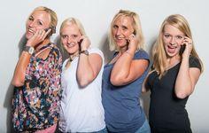 Girl Power hoch vier in der Manufaktur @ mymuesli #cereals #team