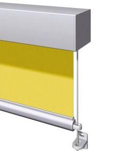 Warema 490-es típusú függőlges lefutású ablaknapellenző