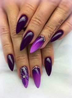 Semi-permanent varnish, false nails, patches: which manicure to choose? - My Nails Fabulous Nails, Gorgeous Nails, Pretty Nails, Pink Gel, Purple Nails, Hot Nails, Hair And Nails, Nagel Gel, Creative Nails