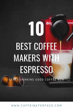 Finding a good coffee and espresso machines is no easy task for most, especially if it's your first one. Don't fret, we've got you covered with this all inclusive guide to the best coffee maker with espresso functionality.  There are an incredible amount of combination coffee and espresso machines, that it can often leave you feeling more confused than you already were. Coffee And Espresso Maker, Cappuccino Maker, Best Coffee Maker, Best Espresso, Facebook Marketing, Content Marketing, Affiliate Marketing, Media Marketing, Online Marketing