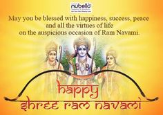 Lord Ram teaches us the best lessons of life. Patience, devotion, being happy, calmness, bravery and most of all humanity.  #Happy_Ram_Navami   http://nubellocosmeticsurgery.com/
