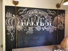 Fall chalkboard art - Google Search