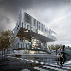 CGarchitect - Professional Architectural Visualization User Community Architecture as an Art Form Commercial Architecture, Architecture Drawings, Facade Architecture, Contemporary Architecture, Landscape Architecture, Architecture Diagrams, 3d Architectural Visualization, Architecture Visualization, Architectural Models