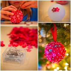 Christmas Gift Ideas <b>Handprint reindeer and construction paper trees are kid classics.</b> But wouldn't it be great to try something new this year? Reindeer Handprint, Paper Trees, Christmas Bulbs, Christmas Gifts, Try Something New, Construction Paper, Kid, Gift Ideas, Holiday Decor