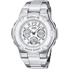 Top 10 Casio Baby-G Shock Resistant Watches for Women on Flipboard G Shock Watches, Sport Watches, Cool Watches, Watches For Men, Ladies Watches, Wrist Watches, Analog Watches, Women's Watches, Fancy Watches