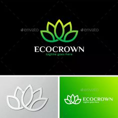 Crown Logo Graphics, Designs & Templates from GraphicRiver (Page Crown Logo, Paper Crowns, Love Logo, Eco Green, Travel Logo, Coreldraw, Graphic, Templates, Logos