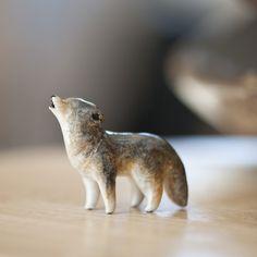 i love little figures in glass, ceramic, wood....
