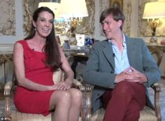 Prince Louis and Princess Tessy of Luxembourg, above, opened about their ten year marriage in a touching joint interview less than four months before announcing their divorce this week.