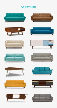 Ready to create the perfect piece of furniture—one that's just right for your home and Mid Century Interior Design, Mid-century Interior, Mid Century Modern Decor, Mid Century Modern Furniture, Mid Century Design, Interior Design Living Room, Living Room Designs, Sofa Design, Custom Furniture