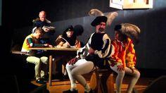 Caravaggio, La chiamata di Levi, tableau vivant narrato - Teatro Zero Meno