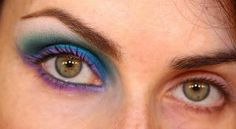 Disco Blue; Party Eyes makeup Tutorial.