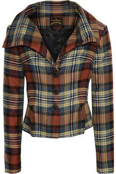 Vivienne Westwood Anglomania   Eva tartan jacket   NET-A-PORTER.COM
