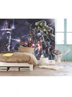 komar_4-434_avengers_marvel_supereroi_carta_da_parati_designxtutti