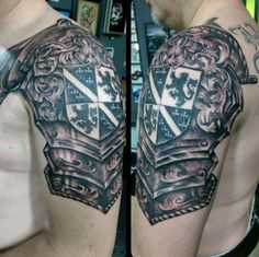 Irish Armor Tattoo 50 family crest tattoos for men - proud heritage ...