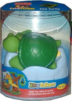 Fisher Price Little People Zoo Talkers - Sea Turtle by Fisher-Price, http://www.amazon.com/dp/B0080IX4NO/ref=cm_sw_r_pi_dp_QNsBqb18WEA0Z