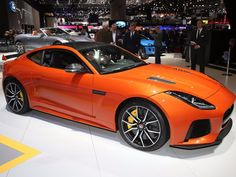 Jaguar intro'd the new F-Type SVR, a 575-horsepower, 200-mph version of its critically acclaimed F-Type sports car.