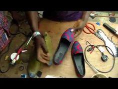 f74e18613a87 How to make Ankara flat shoe DIY