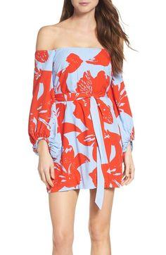 Main Image - Bardot Camilla Off the Shoulder Dress