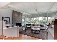 Jane Fonda Beverly Hills Home-Living Room