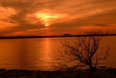 Greers Ferry Lake Sunset
