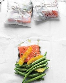 En papillote salmon.  Fish like salmon are high in good-for-you fats that can help support heart health.