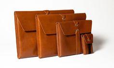 Zero-waste + vegetable tanned leather = gorgeous.
