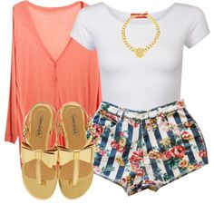 A fashion look from June 2013 featuring Influence tops and Timeless sandals. Browse and shop related looks. Swag Outfits, Dope Outfits, Cute Summer Outfits, Pretty Outfits, Stylish Outfits, Fashion Outfits, Womens Fashion, Teenager Fashion Trends, Ropa Hip Hop