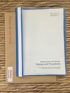 Childminding policies and procedures document EYFS Ofsted Pacey childminder | eBay
