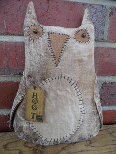 Hoot the Primitive Owl prim fall autumn OFG by PrimitiveBlackHat, $14.00