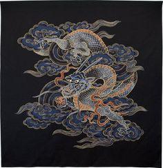 Dragon by Furoshiki Japanese Dragon, Japanese Art, Chinese Dragon, Dragon Tattoo Sketch, Dragons, Medieval Dragon, Art Chinois, Dragon Illustration, Art Asiatique