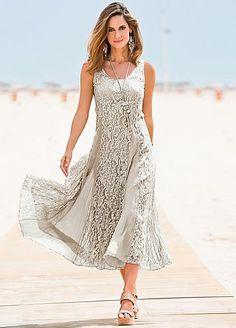 Together Crinkle Lace Dress