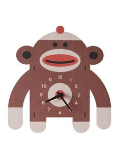 Sockmonkey Clock