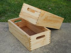 plywood box 1 | boxes made from scrap wood to try out my new… | Flickr