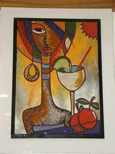 Aida mosaic