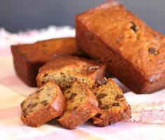 Banana Bread with Chocolate Chips | | Noshing With The NolandsNoshing With The Nolands