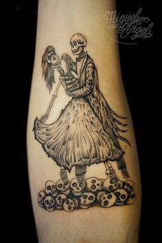 Dancing Couple Tattoo for matchIng couples tattoos